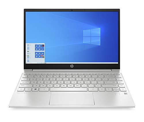 HP Pavilion 13-inch Laptop, 11th Generation Intel Core i5-1135G7 Processor, Intel Iris Xe Graphics, 8 GB RAM, 512 GB Solid State Drive, Windows 10 Home (13-bb0010nr, Natural Silver Aluminum)