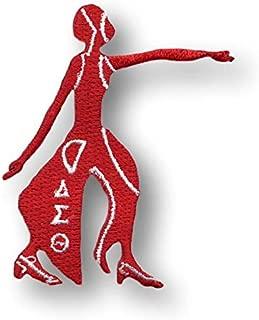 "Delta Sigma Theta Diva Patch 3"" (Red)"