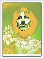 ポスター リチャード アベドン ザ ビートルズ ジョージ・ハリスン 1967年 額装品 ウッドハイグレードフレーム