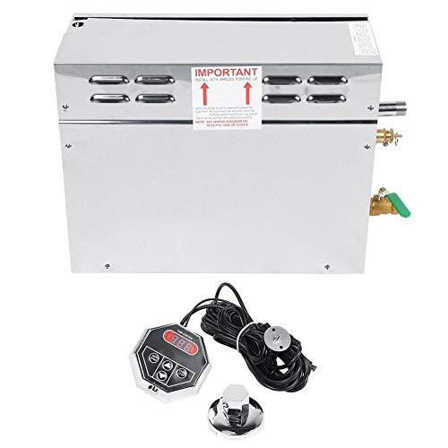 Wandisy Elektrische Saunasteamer Generator Roestvrij Staal TC-135 Digitale Temperatuurregelaar (ONS)