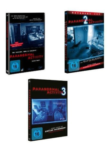 Paranormal Activity 1-3 im Set - Deutsche Originalware [3 DVDs]
