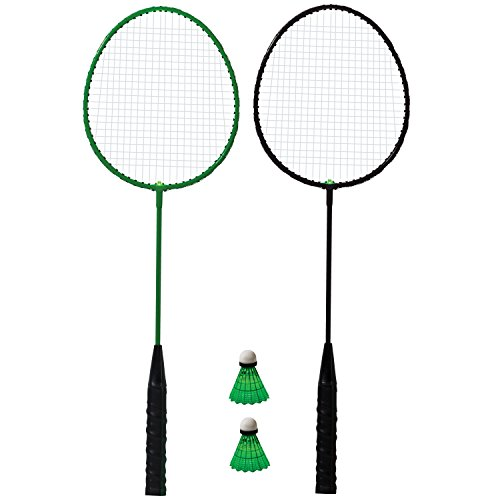 Franklin Sports 2 Player Badminton LED Rackets