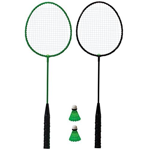 Franklin Sports Badminton-LED-Schläger für 2 Spieler.