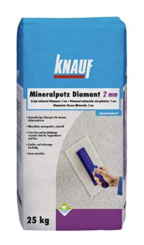 Knauf 5785 Mineral Diamantputz 2 mm, weiß