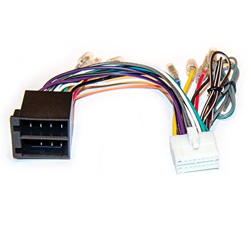 Autoradio Ersatzkabel Adapter für Clarion NX, NZ, VB, VRX, VX, VZ, XANAVI (25x11mm)