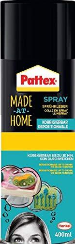 Pattex 1954466 Colle en Spray repositionnable 400 ml