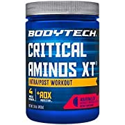BodyTech Critical Aminos XT Intra/Post Workout Watermelon Supports Muscle Recovery (16 Ounce Powder)