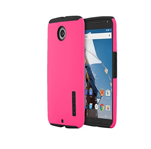 Incipio DualPro Dual Layer Protection Case For Motorola Nexus 6 (Pink)