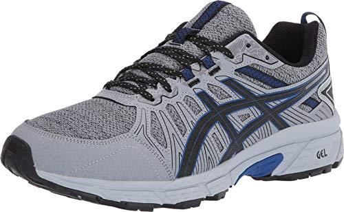 ASICS Men's Gel-Venture 7 MX (4E) Running Shoes, 10XW, Sheet Rock/ASICS Blue