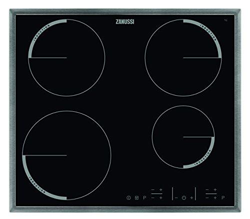 Zanussi ZEI6640XBA Kochfeld Elektro/Induktion / 57,60 cm / 4-fach Induktion/edelstahl