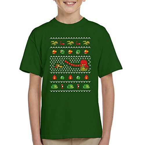 Alex Kidd In Christmas World Kid's T-Shirt