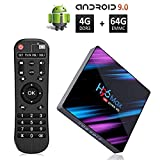 Android 9.0 TV Box with 4GB RAM 64GB ROM, H96 Max 3318 4K