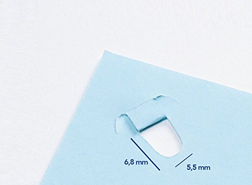 PLUS Japan, Klammerloser Hefter Schreibtischmodell in Grün, Heftleistung 10 Blatt, 1er Pack (1 x 1 Hefter) - 3