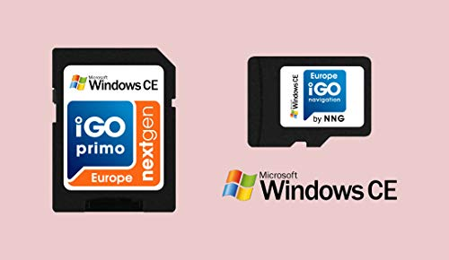 MicroSD Card with Licensed Windows CE GPS Navigation Software iGO Primo NextGen 3D Maps EUR/RUS/TUR/for PKW/Truck/Camper/ 30 Days Free Maps Update/No SPEEDCAM alert Option