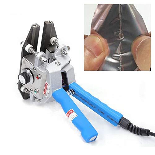 """Sigillatrice a caldo da 8"""", 300 W, pinza sigillatrice a mano, sigillatrice per pellicole in alluminio (lunghezza guarnizione: 200 mm)"""
