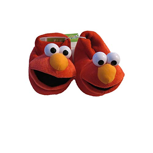 Toddler Boys' Elmo Bootie Slippers Red