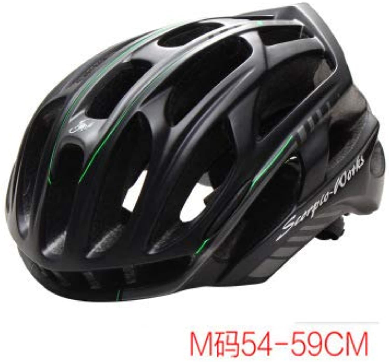 ZMHX Helm 220G Led Fahrrad Fahrradhelm Unisex Fahrrad Schutzhelm Rennrad MTB Mountainbike Pc + Eps + Nylon + Pp + Led Licht