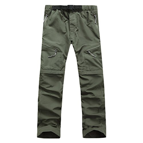 Adeeing Hiking Pants for Men and Women Quick Dry Detachable Sports Trousers for Outdoor Camping...
