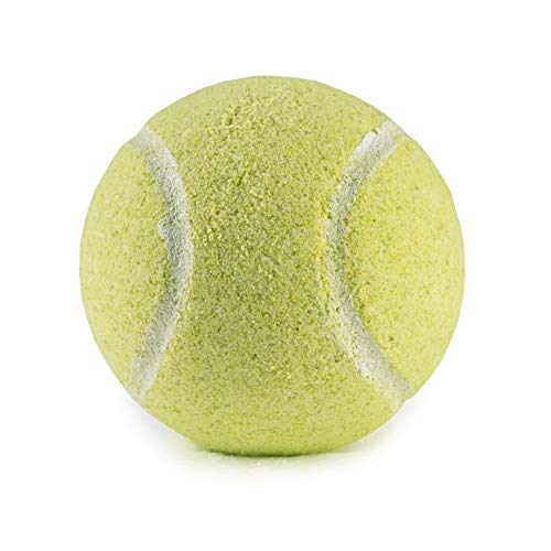 Tennis Ball Bath Bombs - 4 pack - Large, 6 oz Scented Bath Bomb Fizzies - Great Gift for Players, Women, Girls, Birthdays, Coaches, Opponents, Doubles Partners, High School Tennis, Women Leagues