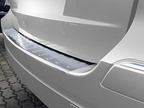 Fahrzeugspezifischer Ladekantenschutz aus Edelstahl mit 3D Abkantung AZ29000063