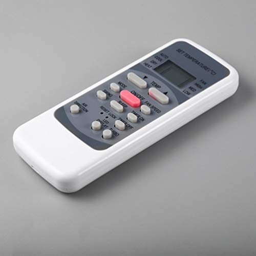 Reemplazo del Controlador de Control Remoto de Aire Acondicionado Universal para Media R51M R51 / E R51 / CE R51M / CE R51D / E R51M / BGE (Gris Gris)