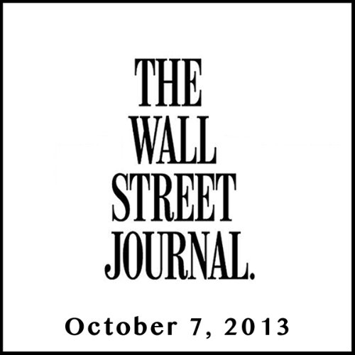 The Morning Read from The Wall Street Journal, October 07, 2013 copertina