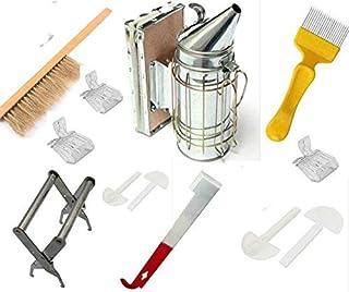 LamYHeng Bienenzucht-Kit -10 STK  -Honeycomb Rauchen-Bienenzucht ZubehörBiene-Werkzeug halten