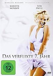 DVD-Cover von Das verflixte siebte Jahr mit Marylin Monroe und Tom Ewell