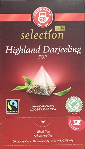 Teekanne Luxury Cup Darjeeling Fairtrade (1 x 40 g)