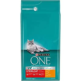 Purina ONE BIFENSIS STERILCAT Dry Cat Food for Sterilised Cats, Various Types
