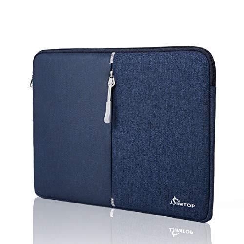 SIMTOP Laptoptasche Hülle 12 Zoll für iPad Tablets, Wasserdicht Schutzhülle Tablet Tasche Kompatibel mit 12.9 Zoll Neu iPad Pro 2018/10.5 Zoll iPad Air / 11 Zoll iPad Pro