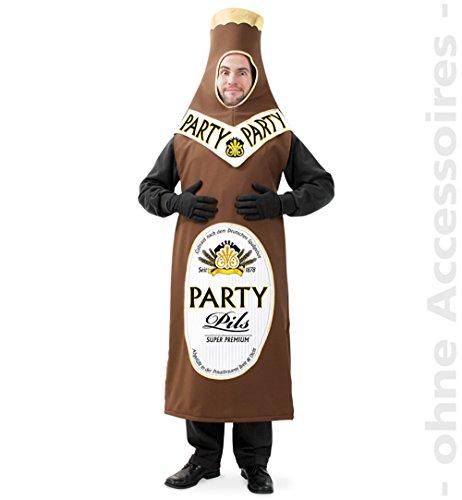 Party-Chic 14172 Kostüm-Kleiner Durst-Bierflasche-Gr. L