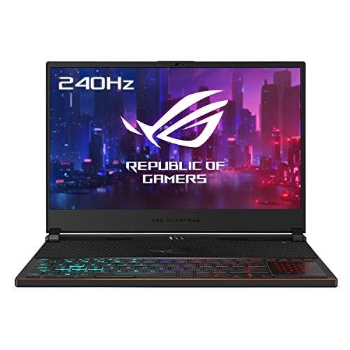 "ASUS ROG Zephyrus S GX531GXR-AZ063T - Ordenador portátil Gaming de 15.6"" FullHD (Intel Core i7-9750H, 24GB RAM, 1TB SSD, GeForce RTX 2080-8GB, Windows 10) negro - Teclado QWERTY Español"