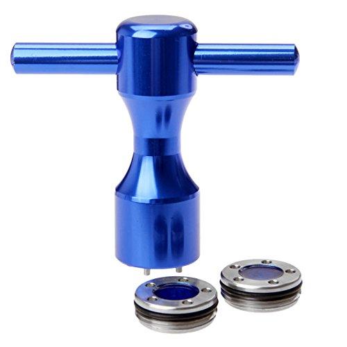 MUXSAM 1pc Golf Putter Gewichte+Schlüssel für Titleist Scotty Cameron Putter Blau - 5g