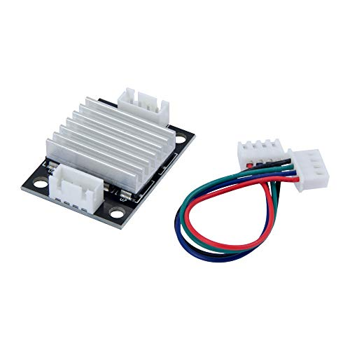 TeOhk TL-Smoother Kit Addon Module with Heatsink Jumper Wires MK8 for Eliminate Uneven Signal Wave 3D Printer Motor Driver Controller