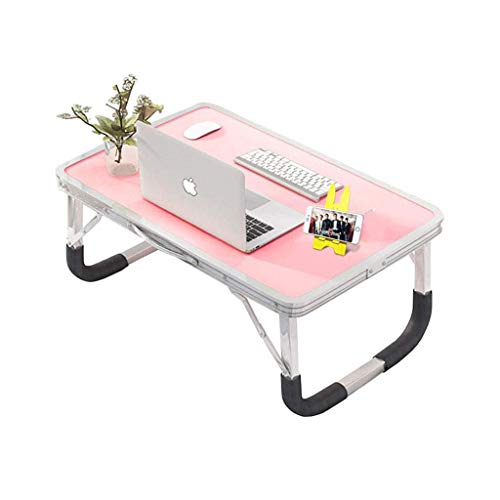 Mesa de Cama para Ordenador portátil, Escritorio, Plegable, portátil, Desayuno, Bandeja para portátil, sofá de Lectura, aleación de Aluminio