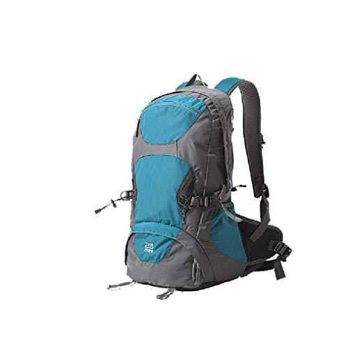 Sac à dos imperméable à l'eau 23L, sac à dos d'escalade en plein air, sac à dos de voyage - Bleu - Taille