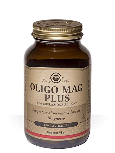 Solgar Oligo Mag Plus - 100 Tavolette