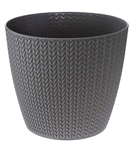 Pote de plástico Diámetro del trigo 19 cm
