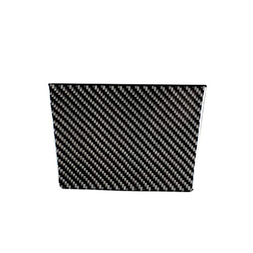 Republe Ersatz für Golf 6 MK6 2008-2012 Auto-Innenraum-Carbon-Faser-Dekor-Trim-Abdeckung Aschenbecher-Panel