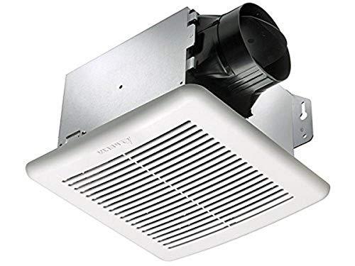 Delta Electronics (Americas) Ltd. GBR100H Delta BreezGreenBuilder GBR Series Exhaust Fan, 100 CFM, With Dual Speed & Humidity Sensor
