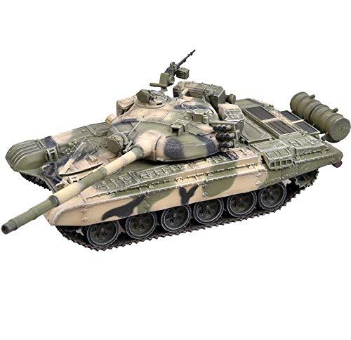 CMO Modellino di Carro Armato, Carro Armato da Battaglia Principale sovietico T-72B Plastica Scala 1/72, Giocattoli e Regali per Bambini, 5,7 X 2,2 Pollici