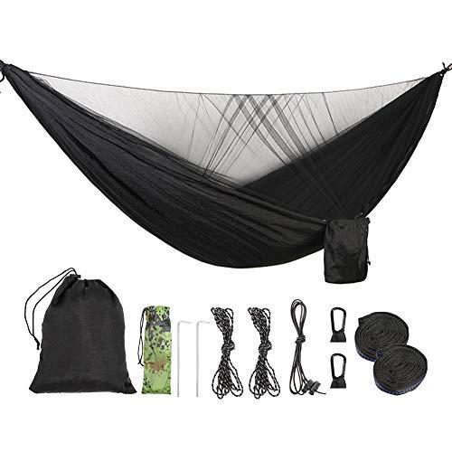 ValueHall Camping Hangmat met Muggennet Lichtgewicht Dubbele Hangmat Parachute Nylon Hangmat voor binnen, Buiten, Wandelen, Camping, Backpacking, Reizen, Achtertuin, Strand V7079B