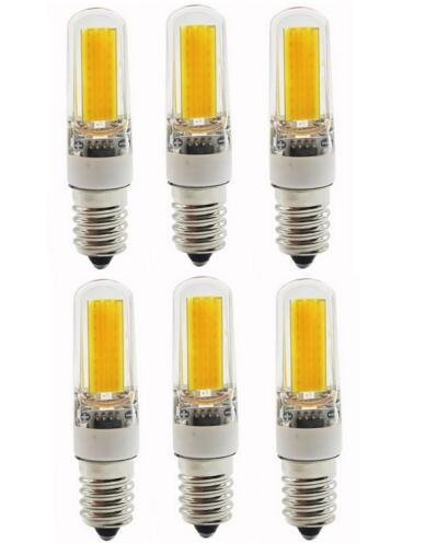 Best to Buy® 6-pack E14 9W COB LED-lamp (zie 35-50W halogeen) 430 lumen - E14 LED warm wit - AC 220V-240V - LED-lamp 360 ° [energieklasse A ]
