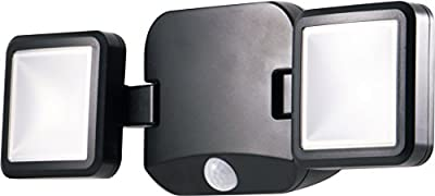 Energizer 40776 LED Motion-Activated Security Spotlight, 1 Pack, Dual-Head