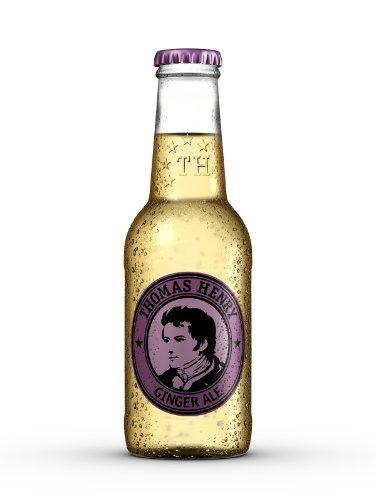 Thomas Henry Ginger Ale (24 x 0,2l), inkl. 1,92 € Pfand, MEHRWEG