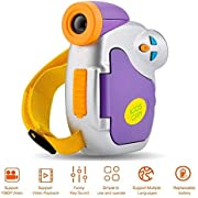 CamKing Video Camera Camcorder for Kids Kids Digital Camera, 1080P Full HD Digital Video Camcorder Gift for Boys and Girls 5MP with Battery