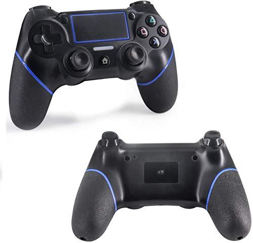 AILY Control inalámbrico para PS4, el regulador del Juego de/Delgado/PC Pro, el Panel de Tacto Gamepad con vibración Dual y función de Audio, Agarre Antideslizante, Indicador LED Mini