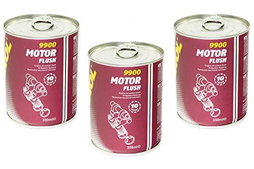 MANNOL Motor Flush Reiniger Motorspülung 3 Stück á 350 ml