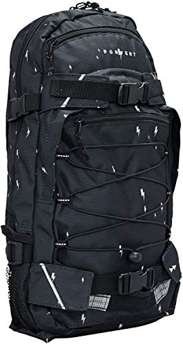 FORVERT Allover Louis Unisex Backpack,Daypack,Rucksack,Hauptfach,3 weitere Fächer,Boardcatcher,gepolstert,verstellbare Träger,Dark Navy Flash,one Size